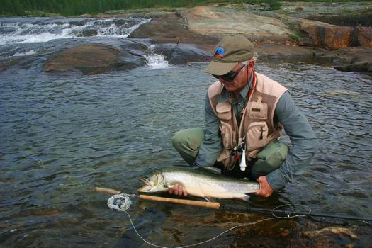 Fly fishing news from quebec s east ungava bay rapid lake for Fishing in quebec
