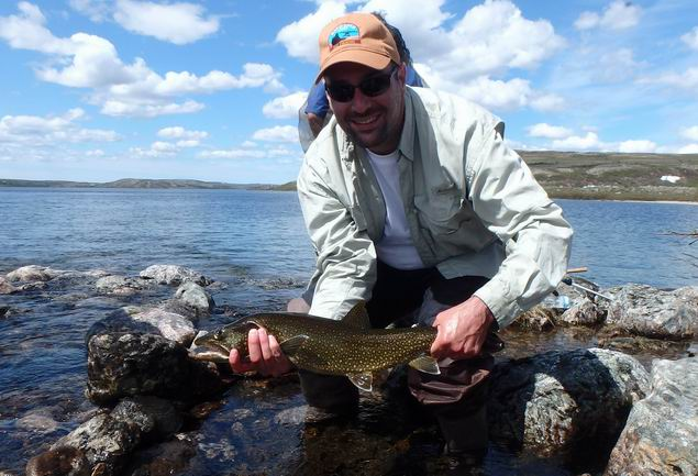 Great opening of the trout fishing season on the Tunulic ...