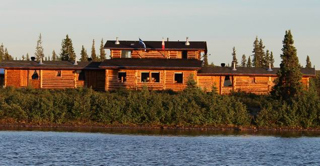 "Rapid Lake Lodge is a real oasis in the heart of Arctic Quebec ""Nunavik"" subarctic tundra."
