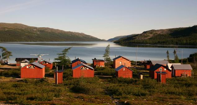 "The Barnoin Ecolodge, is situated in Arctic Quebec ""Nunavik"" 1,500 km north of Montreal and 165 km east of Kuujjuaq."